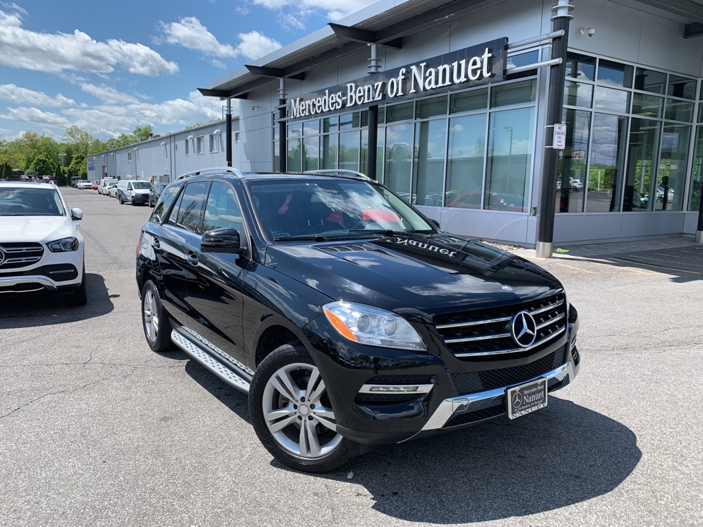 Certified Pre-Owned 2014 Mercedes-Benz M-Class ML 350 4MATIC® SUV