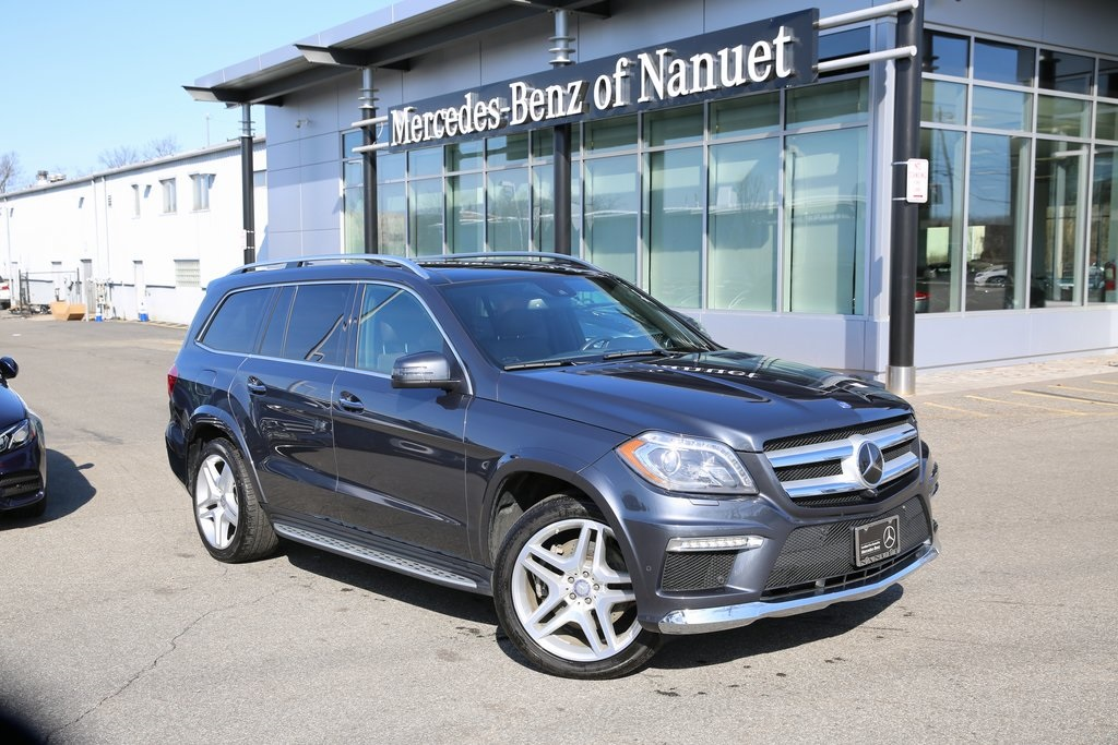 Certified Pre-Owned 2016 Mercedes-Benz GL 550 4MATIC® SUV