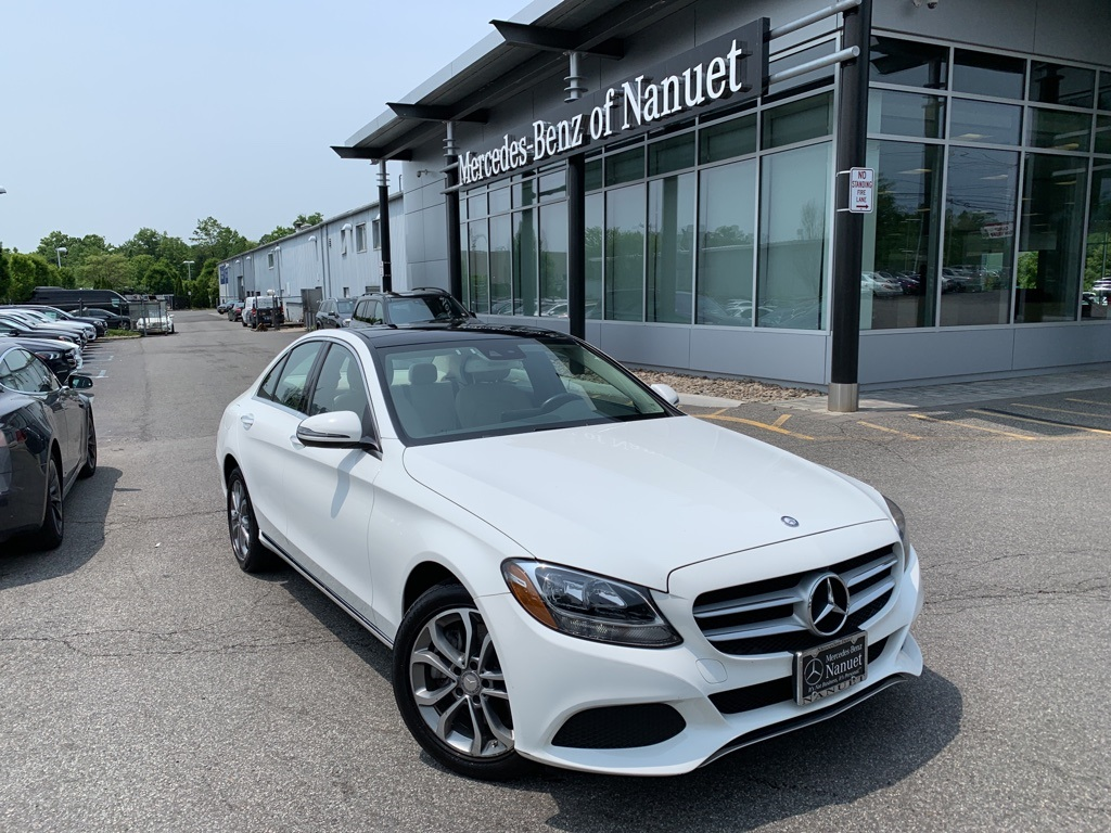 Certified Pre-Owned 2016 Mercedes-Benz C 300 4MATIC® SEDAN