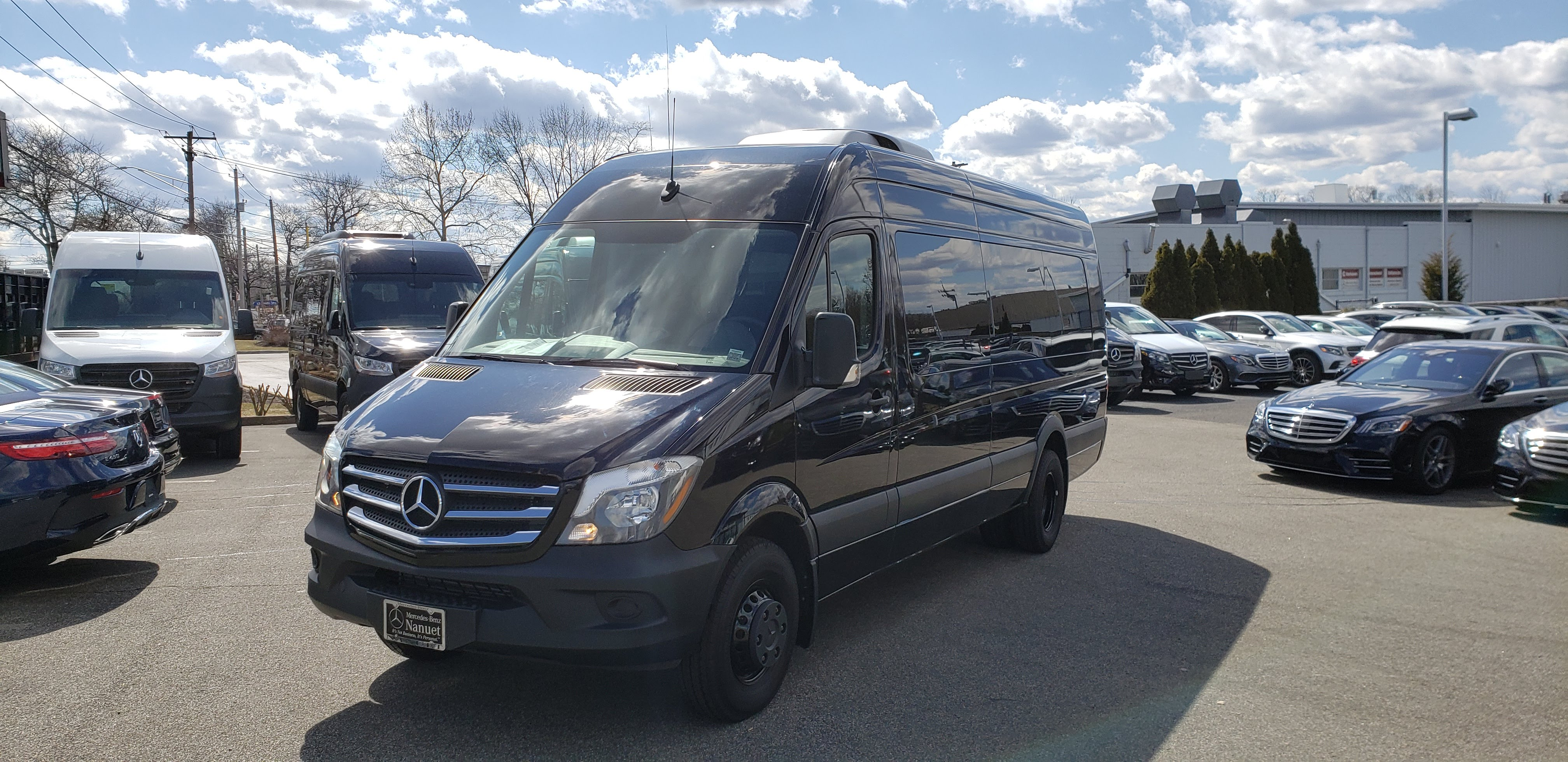 New 2017 Mercedes-Benz Sprinter 3500 Van - 15 Seat Passenger
