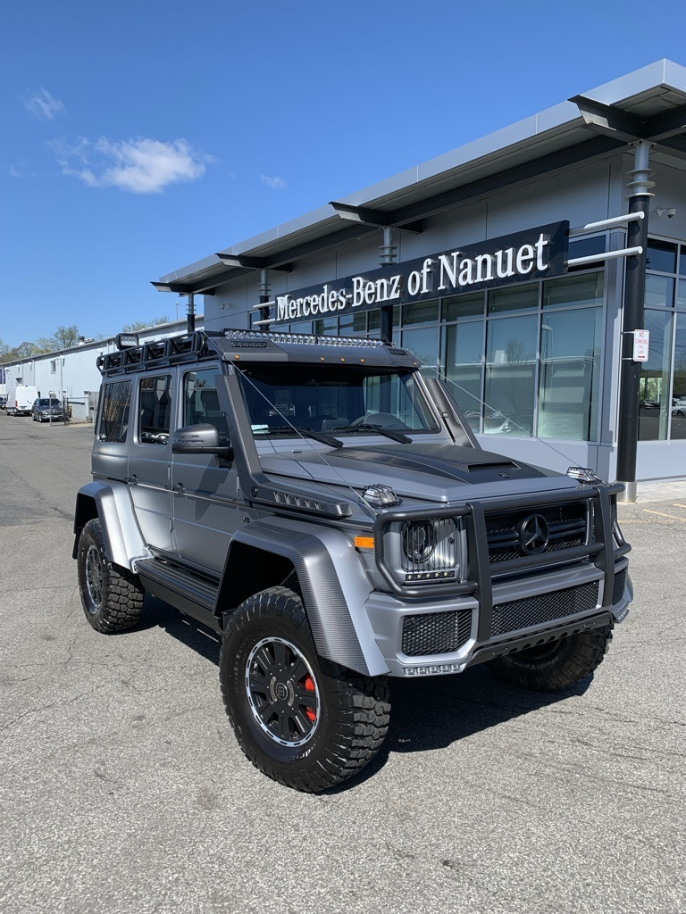 Pre-Owned 2018 Mercedes-Benz G-Class BRABUS Adventure G 550 4x4 Squared