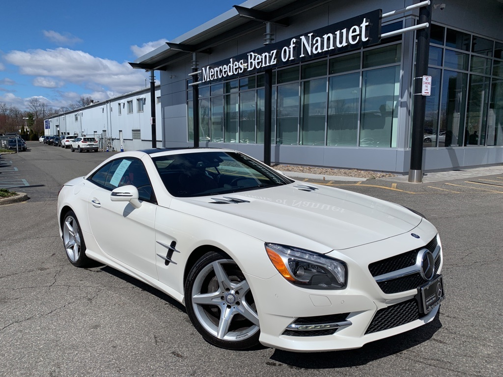 Certified Pre Owned 2016 Mercedes Benz Sl 550