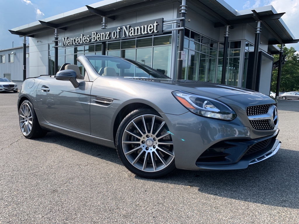 Certified Pre-Owned 2017 Mercedes-Benz SLC 300 Sport RWD ROADSTER