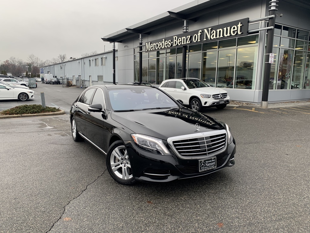 Certified Pre-Owned 2017 Mercedes-Benz S 550 4MATIC® SEDAN