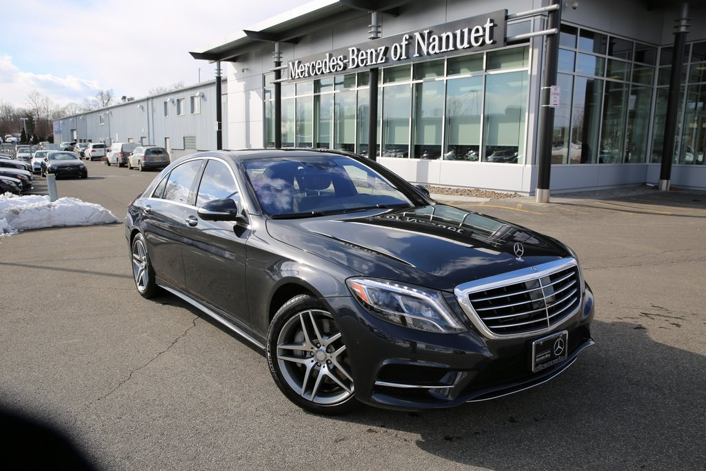 Certified Pre-Owned 2016 Mercedes-Benz S 550 Sport 4MATIC® SEDAN