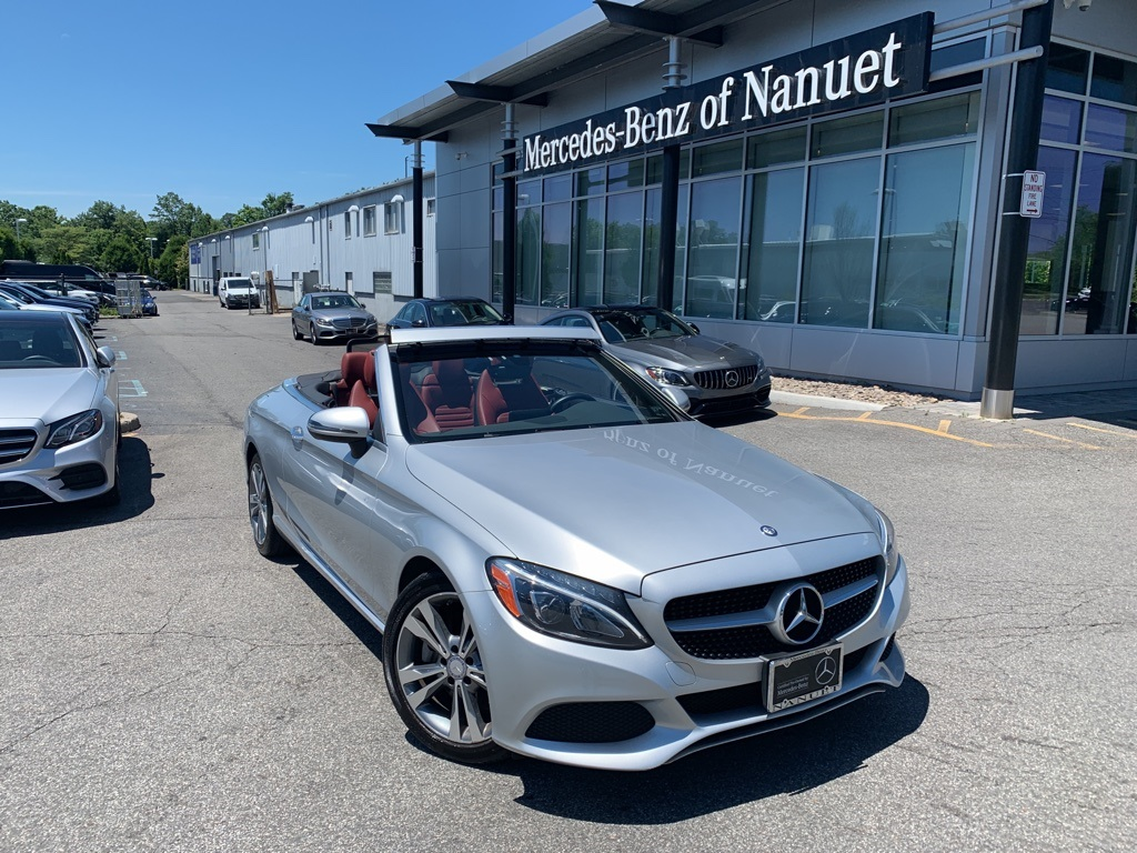 Certified Pre-Owned 2017 Mercedes-Benz C 300 4MATIC® CABRIOLET