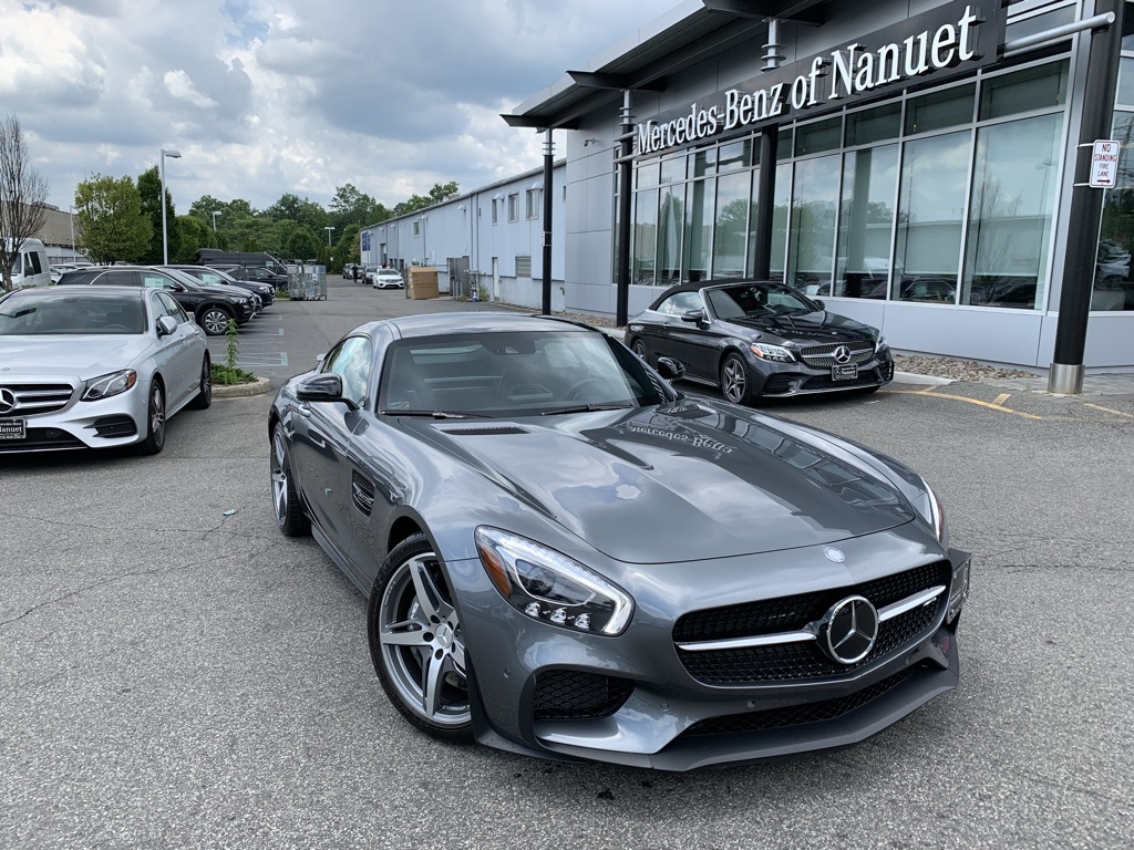 Certified Pre-Owned 2017 Mercedes-Benz GT AMG® GT RWD COUPE