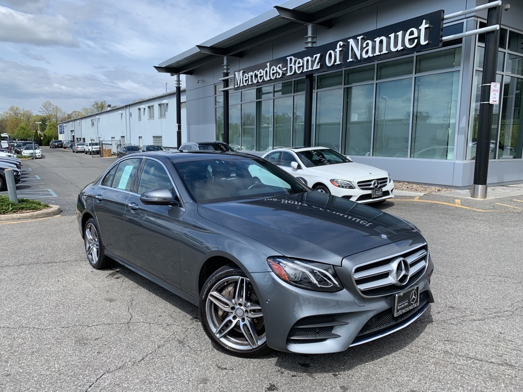 Certified Pre-Owned 2017 Mercedes-Benz E 300 4MATIC® SEDAN