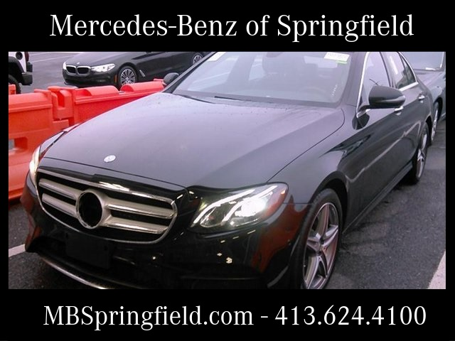 Certified Pre Owned 2017 Mercedes Benz E 300 4matic 4d Sedan
